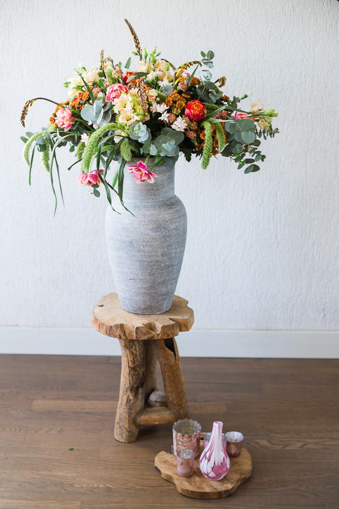Bloemen Met Vaas